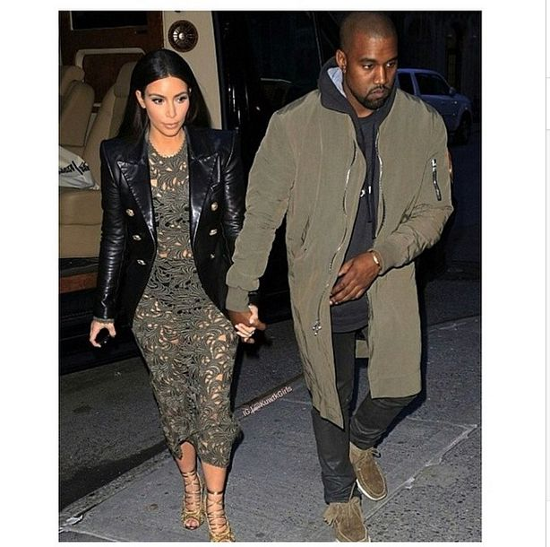 Kim Kardashian i Kanye West zapomnieli o dziecku?