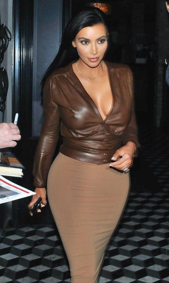 Dama z wosku, czyli Kim Kardashian (FOTO)