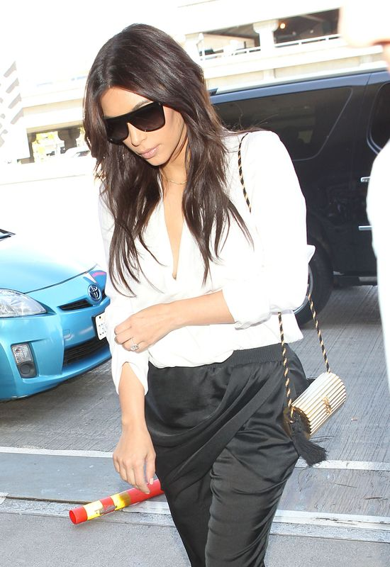 Kim Kardashian nie rezygnuje z noszenia WOROPORÓW!