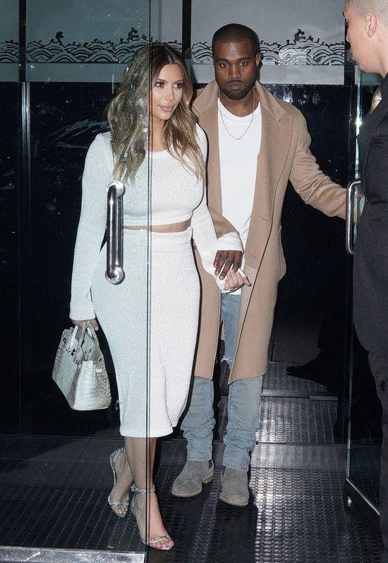 Kim Kardashian nie widzi North West całymi dniami!