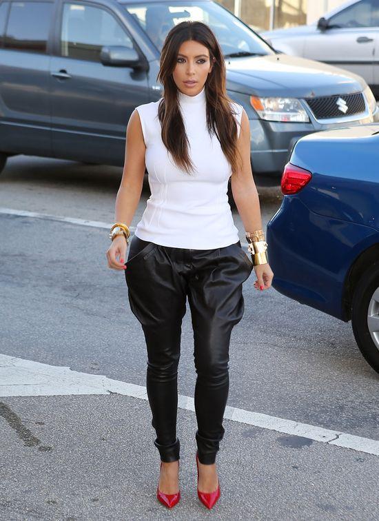 Kim Kardashian zaczyna halloweenowy lans (FOTO)