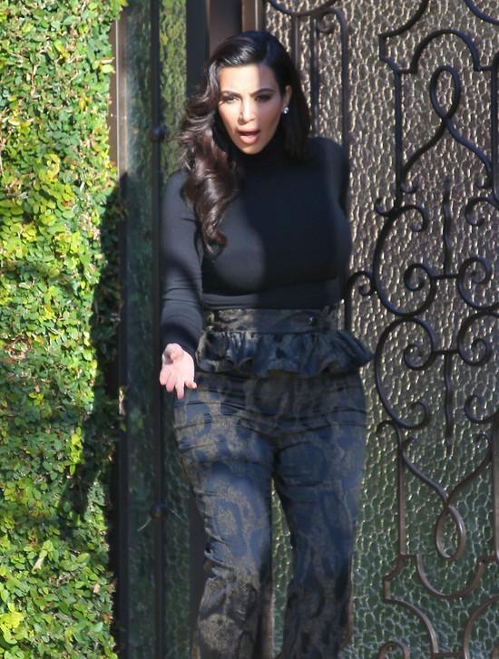 Kim Kardashian zalicza kolejn� wpadk� (FOTO)