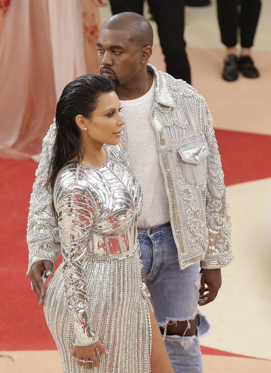 Przed Galą Met Kim Kardashian spotkała się z pielęgniarką