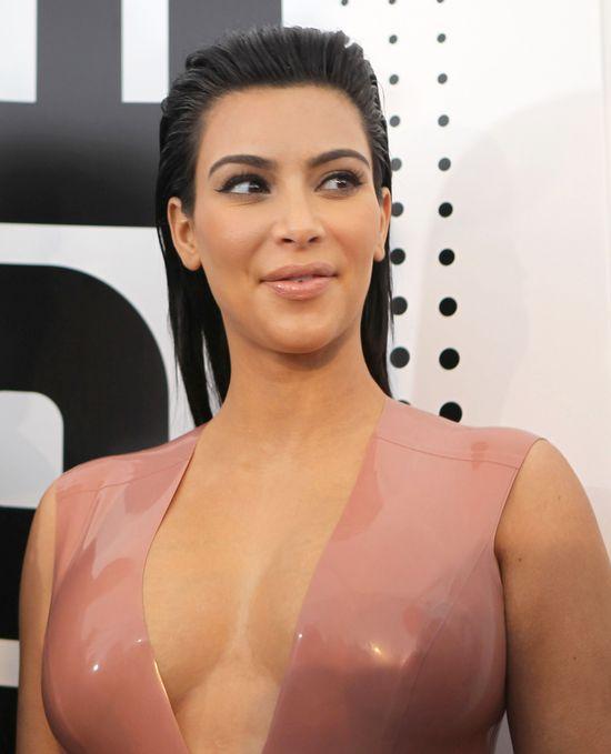 Kim Kardashian o bliźniaczej ciąży