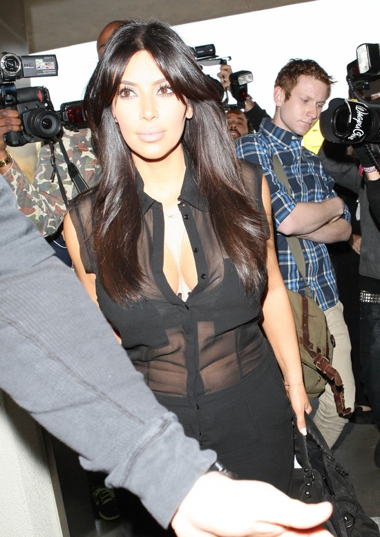 Kim Kardashian cały czas chce być modna (FOTO)