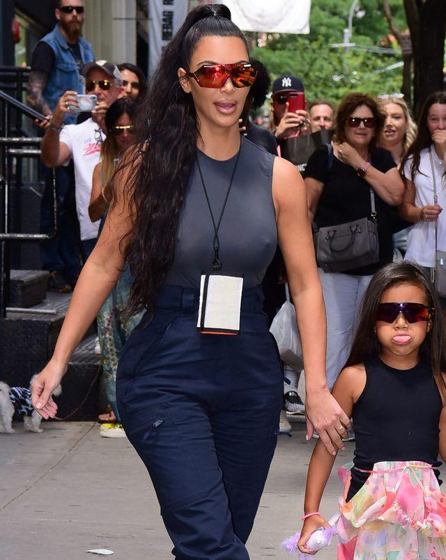 Kim Kardashian nie nauczyła córki dobrych manier (ZDJĘCIA)