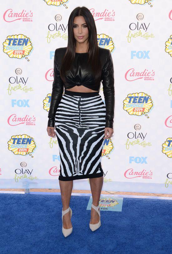 Jennerki i Kim Kardashian zadzierają nosa na Teen Choice