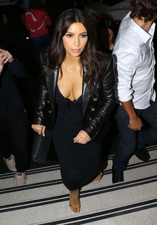 Kim Kardashian miała WYPADEK! (FOTO)