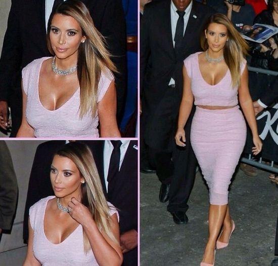 Kim Kardashian ZNISZCZYŁA sukienkę Diora!