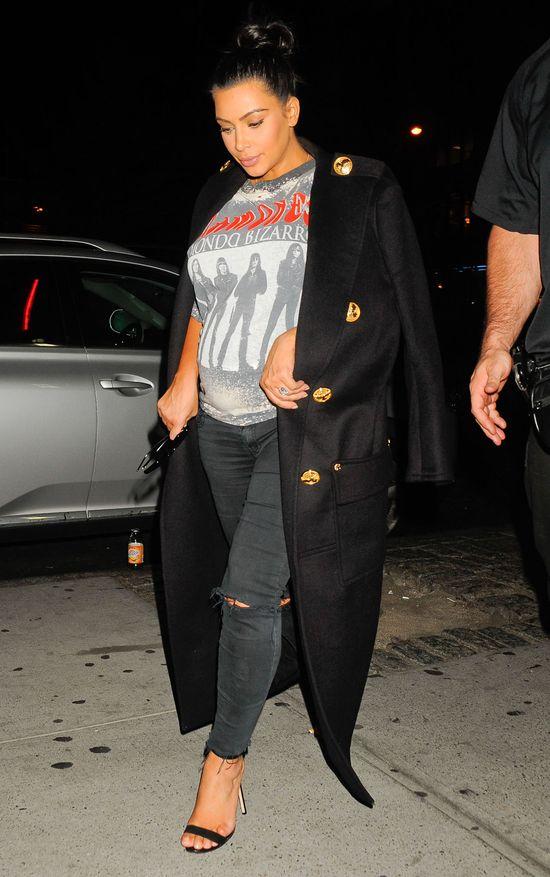 Kim Kardashian weźmie kamery na porodówkę? (FOTO)