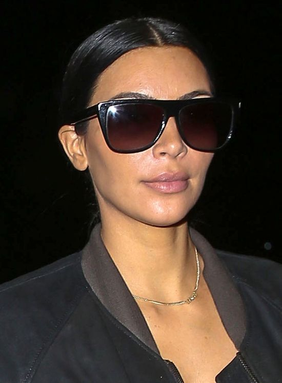 Plastikowa twarz Kim Kardashian? (FOTO)