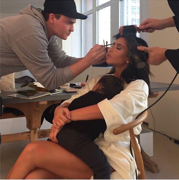 Kim Kardashian jak Gisele Bundchen (FOTO)