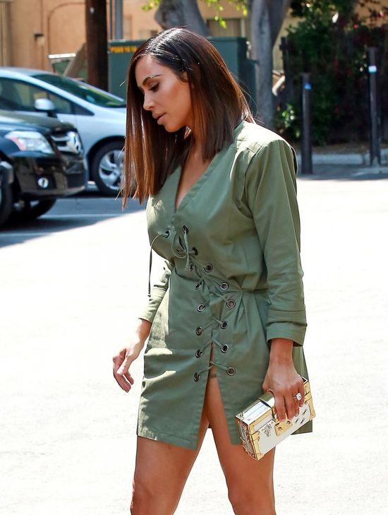 Podoba Ci się nowa fryzura Kim Kardashian? Przespis jest banalny
