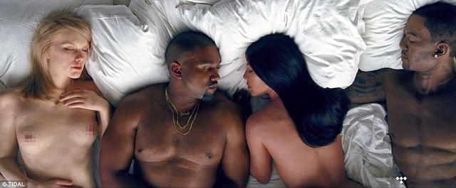 Jak Kim Kardashian zareagowała na nowy klip swojego męża?