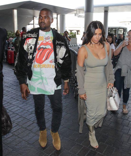 Tego dnia Kim Kardashian miała FATALNY makijaż (FOTO)