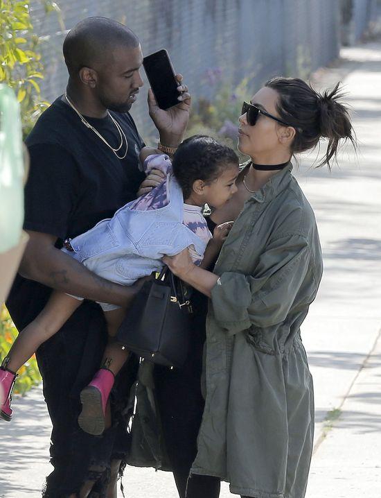 Kanye West trafił na czarną listę Kim Kardashian