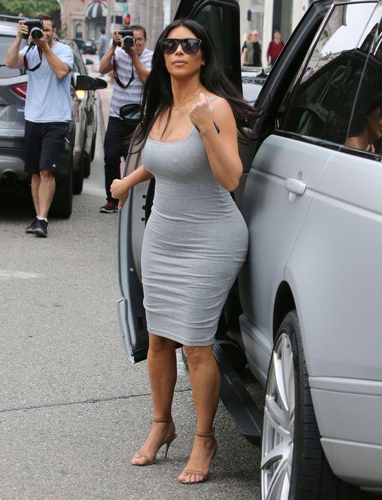 Kim Kardashian wyznała, w którym jest miesiącu ciąży