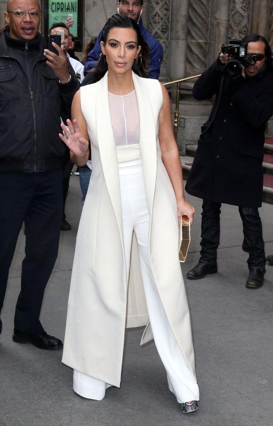 Czy to Kanye West kazał wyjść Kim z TĄ torebką?