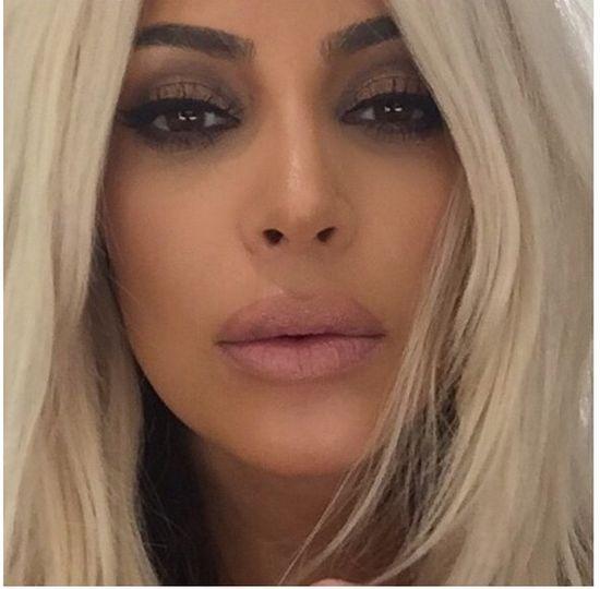 Kim Kardashian JUŻ wróciła do brązu?