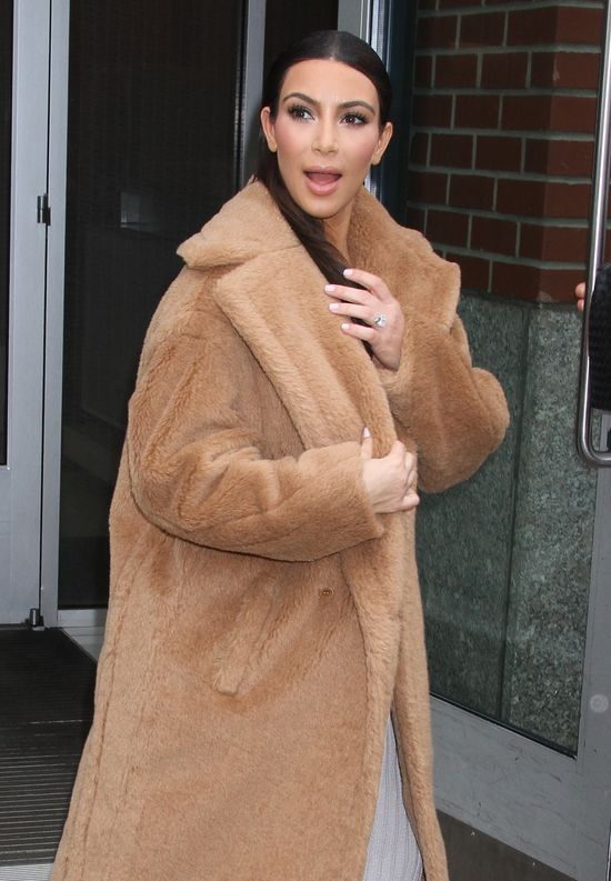 Kim Kardashian w mokrych włosach (FOTO)