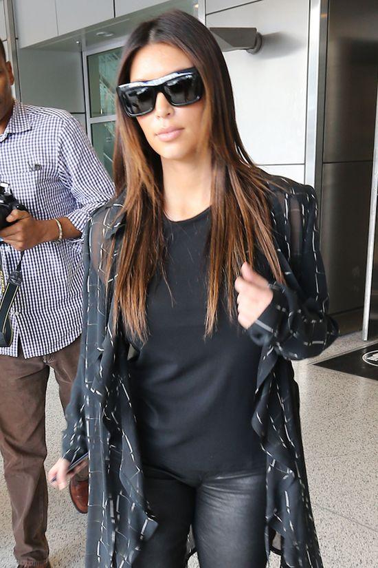 Kanye West zostawił Kim w Stanach, bo…