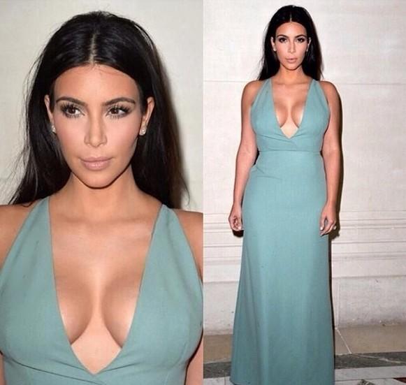Kim Kardashian pochwaliła się zdjęciem bez stanika!