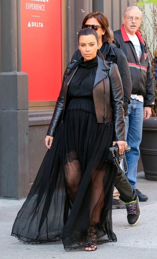 Jak będzie miała na imię córeczka Kim Kardashian?