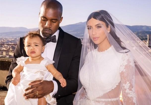 Jak wyglądały Nori i siostry Kim na jej ślubie (FOTO)