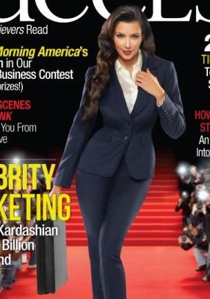 Kim Kardashian – przykład kobiety sukcesu (FOTO)