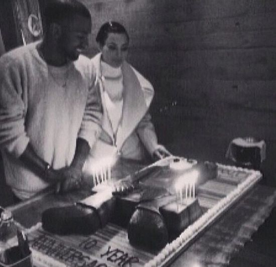 Kim Kardashian i Kanye West maj� powody do �wi�towania