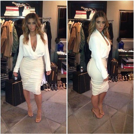 Fani do Kim Kardashian: Odstaw botoks! 6 lat temu...