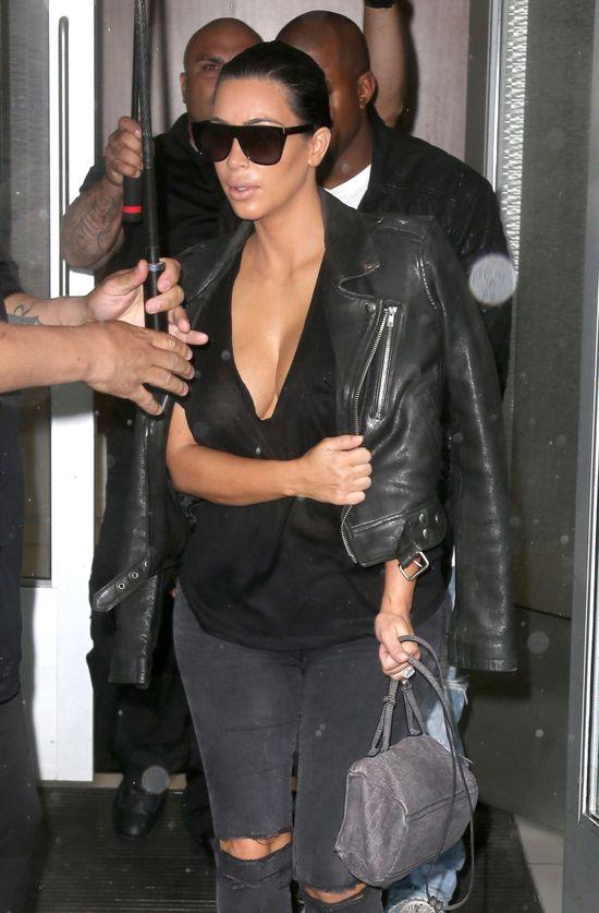 Przygotowani na ci��ow� zmian� stylu Kim Kardashian?