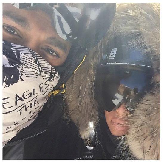 Kim Kardashian pochwaliła się futerkiem (FOTO)
