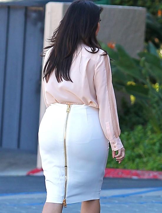 Kim Kardashian: Mam większe biodra, niż brzuch