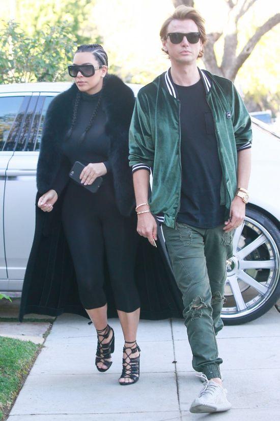 Kim Kardashian POKŁÓCIŁA się z najlepszym przyjacielem!