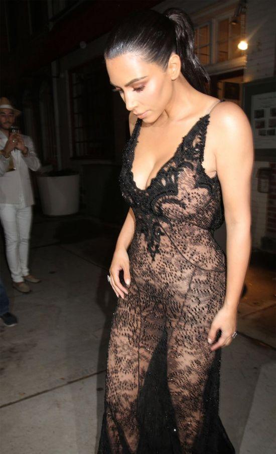 Ciekawe, jak za kila lat Kim Kardashian skomentuje tę stylizację
