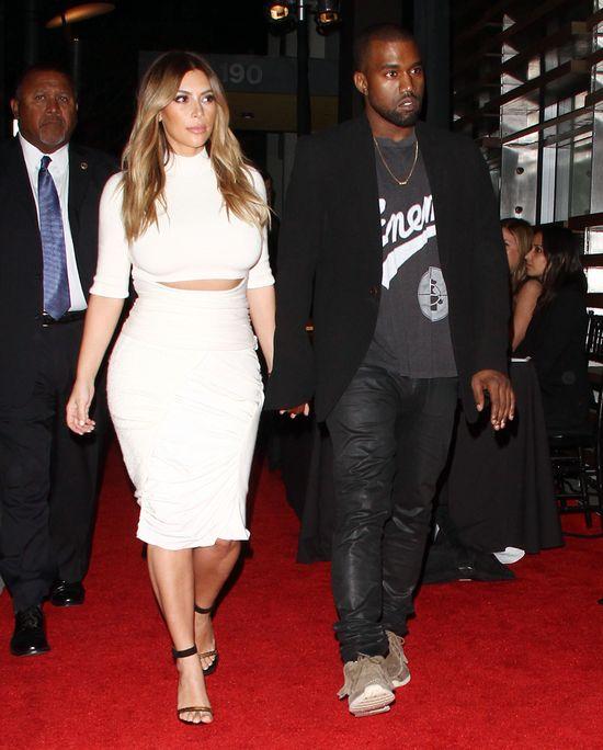 Ślub Kim Kardashian i Kanye Westa będzie kosztował 5 mln$