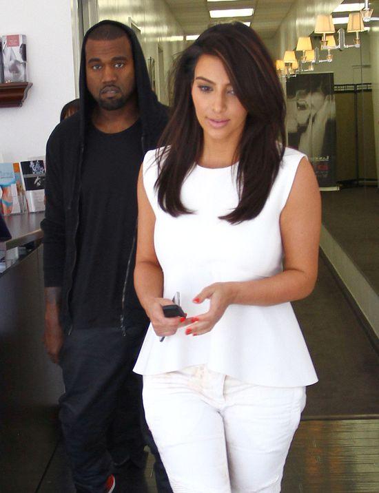 Kim Kardashian i Kanye West kupili złote muszle klozetowe