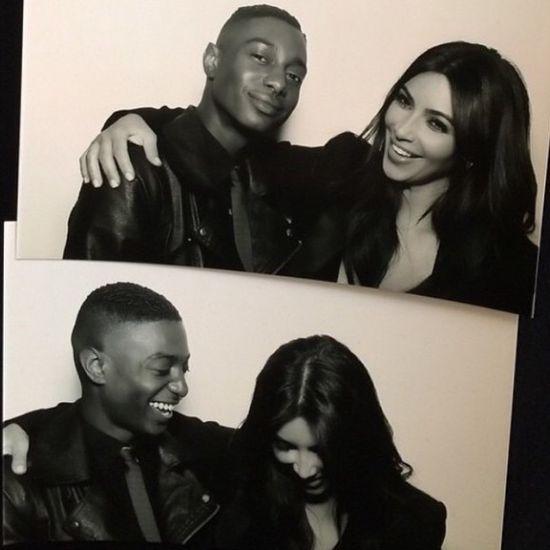 Kim Kardashian nie śmieje sie, bo boi się zmarszczek