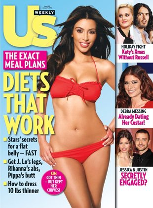 Kim Kardashian na diecie (FOTO)
