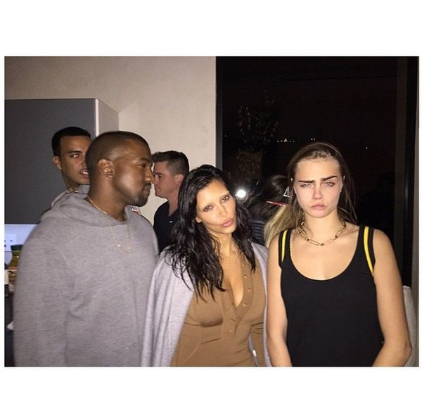 Kim Kardashian z rozja�nionymi brwiami (FOTO)
