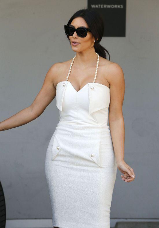 Vera Wang opowiada o sukni ślubnej Kim Kardashian
