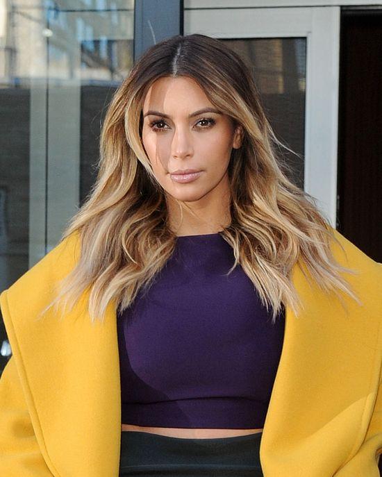 Kim Kardashian KŁAMAŁA - jej figura to nie efekt diety