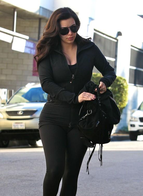Kim Kardashian nauczyła się wcześnie wstawać (FOTO)
