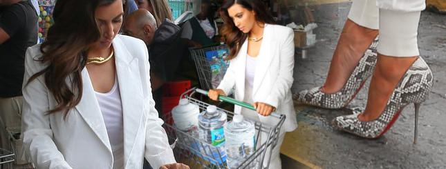 Zobaczcie, co Kim Kardashian kupuje w markecie (FOTO)