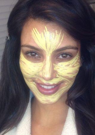 Sekret pięknej cery Kim Kardashian? (FOTO)