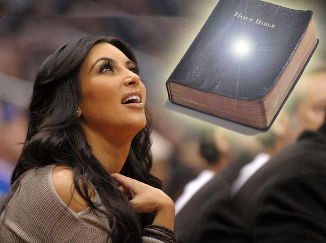 Kim Kardashian chce studiować Biblię