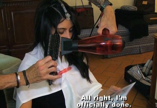 Jaki wyglądała Kim Kardashian wykonaniem ślubnego makijażu?