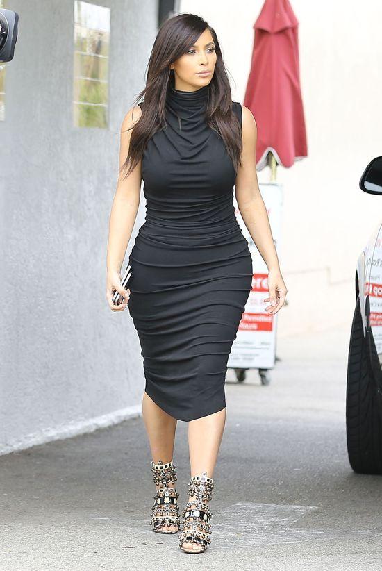 Ile waży Kim Kardshian? (FOTO)