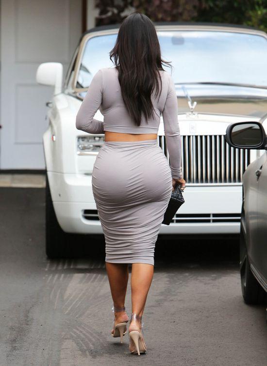 Kim kardashian przytyła już... (FOTO)